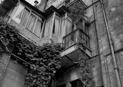 Particolare palazzo via Bezzecca