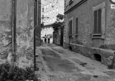 Veduta palazzi Ater da via Mauri