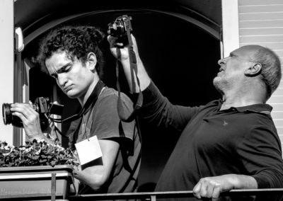 Fotorafi al Concerto dai balconi