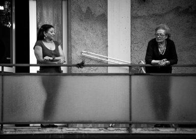 Pubblico del Concerto dai Balconi